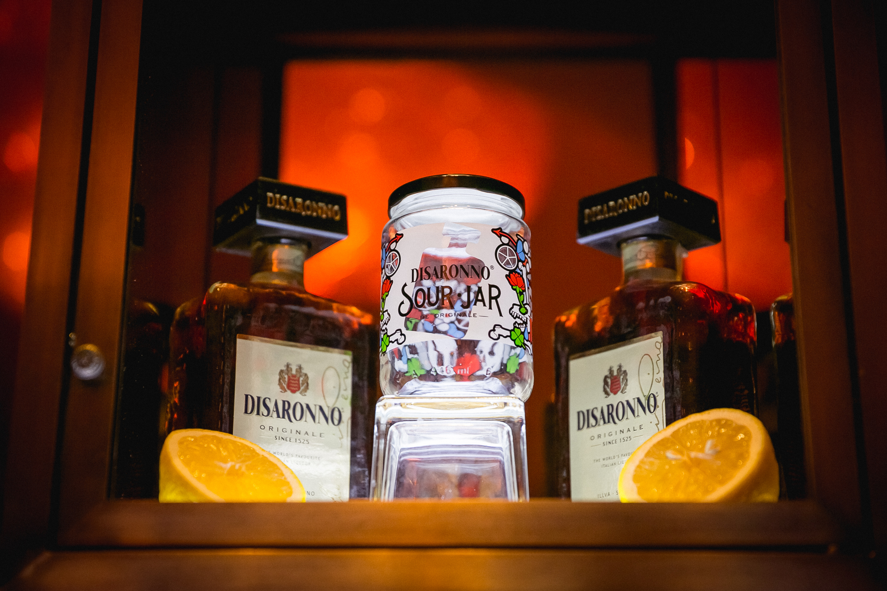 DISARONNO presents SPECIAL EDITION JAR  BY STUDIO JOB