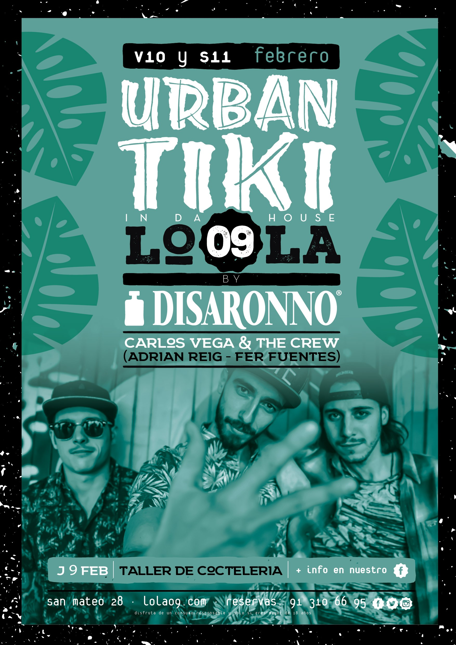 Evento Urban Tiki Disaronno