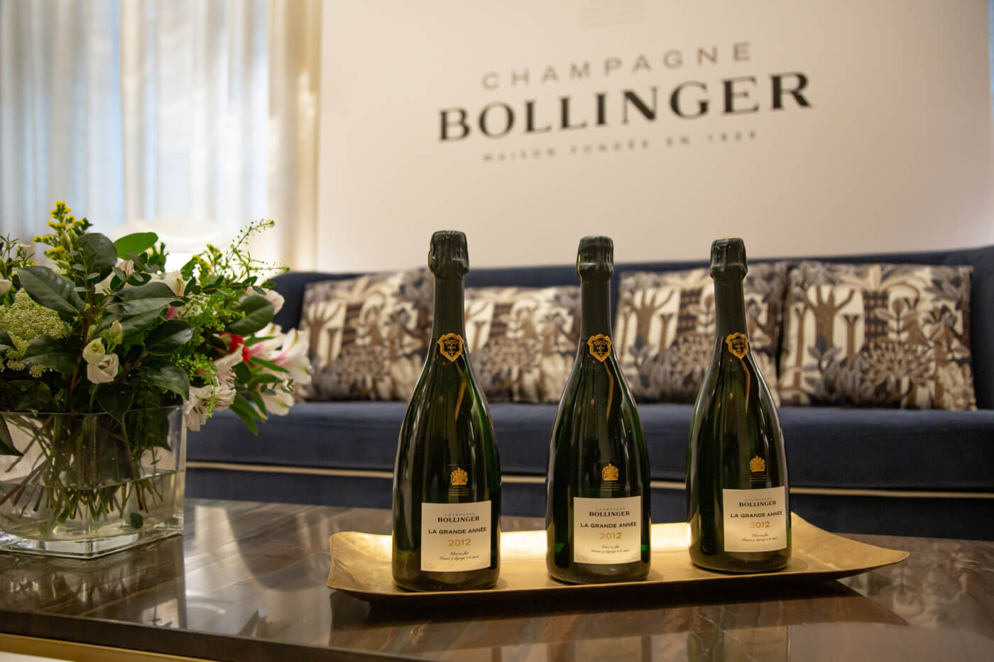 Bollinger presenta La Grande Année 2012, la expresividad de una gran añada recogida en una botella
