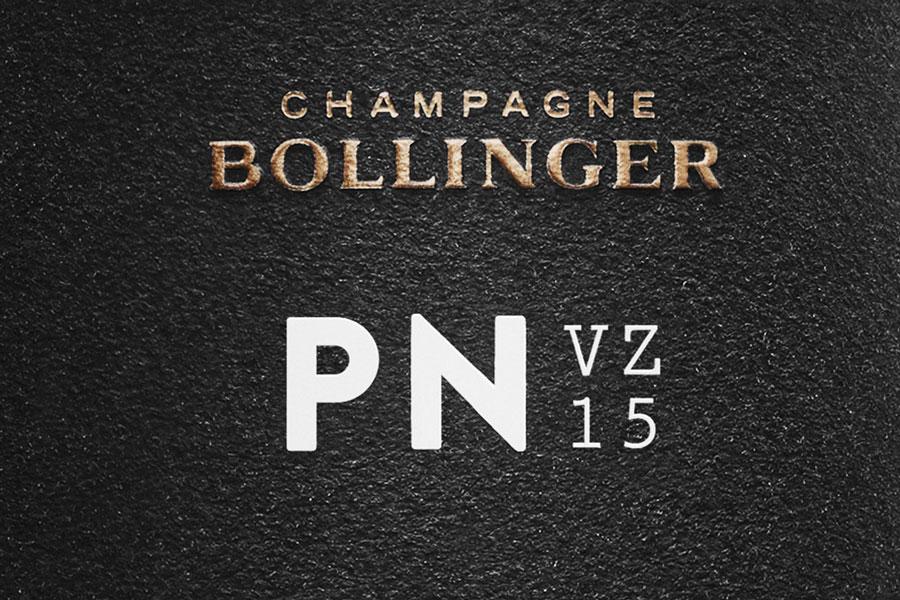 Bollinger presenta una nueva cuvée elaborada únicamente con Pinot Noir: Bollinger P.N.