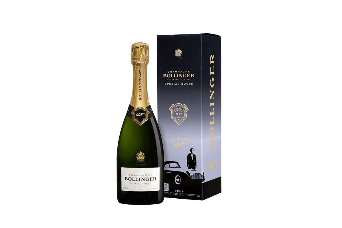 Champagne Bolliner lanza una edición limitada de su Special Cuvée dedicada a 007