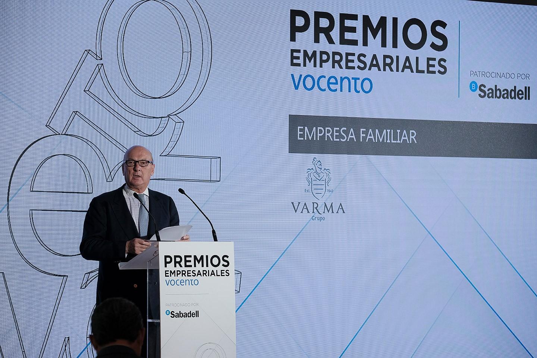 Vocento distingue a Grupo Varma como mejor empresa familiar, en la IV Edición de sus Premios Empresariales