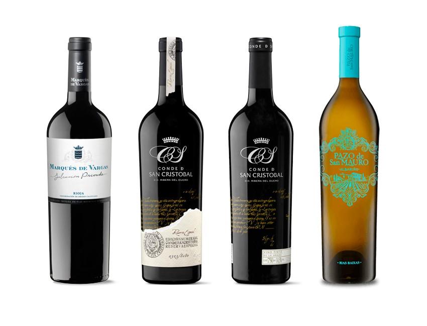 I Edición concurso de vinos del casino de Madrid – Gran Oro y Medalla de Oro para los vinos de alta gama de Bodegas y Viñedos del Marqués de Vargas